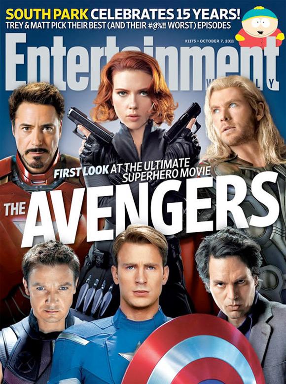 The Avengers EW Cover